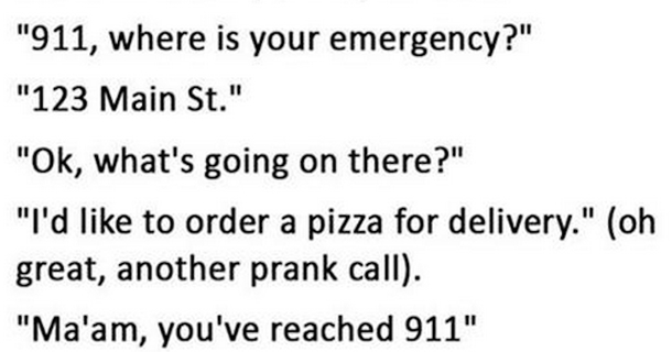 911 Call Seemed Like A Prank, But It Definitely Wasn't